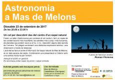 Nit d'astronomia a Mas de Melons