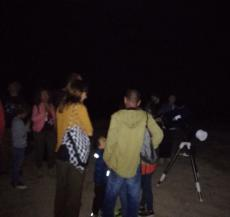 Bona jornada d'astronomia a Mas de Melons