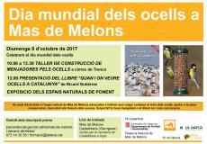 Celebrem el dia mundial dels ocells a Mas de Melons