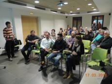 """Primera sessió participativa sobre """"Paisatge Urbà"""" a Linyola"""
