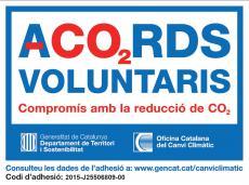 La Llena s'adhereix al Programa d'Acords Voluntaris per a la reducció d'emissions de CO2