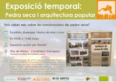 Exposició temporal al centre d'informació de Mas de Melons