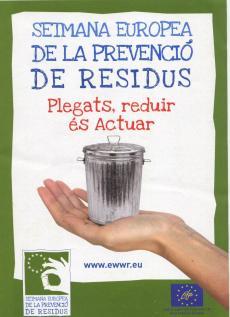 Presentem eines i experiències per a la prevenció de residus