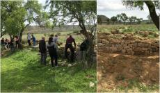 Reconstruït un marge de pedra seca a la vall de Matxerri