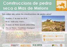 Construccions de pedra seca a Mas de Melons