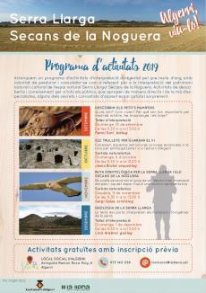 La Llena coordinarà les activitats de l'Espai Natural Serra Llarga - Secans de la Noguera