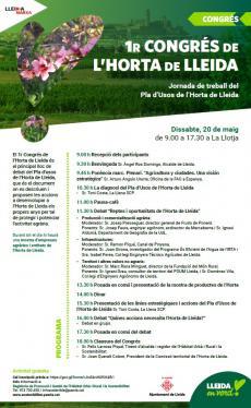 Pla d'Usos de l'Horta de Lleida
