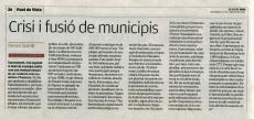 Article al Puntavui sobre la fusió de municipis