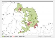 Sectors de l'ampliació