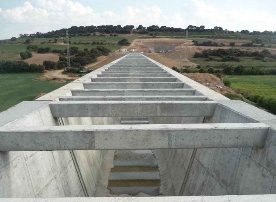 Seguimiento ambiental del proyecto de concentración parcelaria y del canal Segarra-Garrigues en el TM de Tàrrega