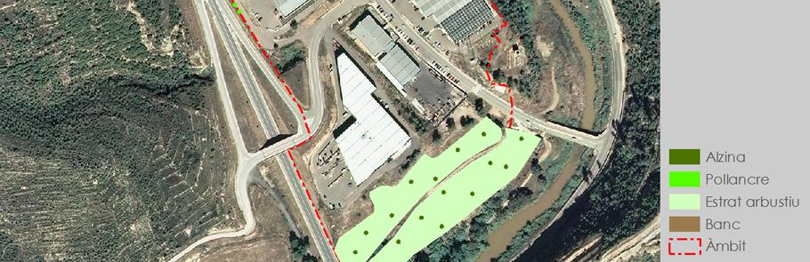 Estudi de millora paisatgística del polígon industrial de la Pobla Nord de Súria