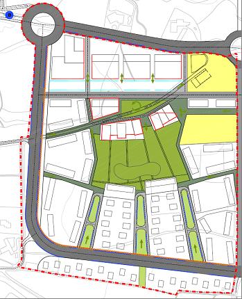 Plànol: Estudi d'Avaluació de Mobilitat Generada per al Pla Parcial residencial SUR-32 de Lleida