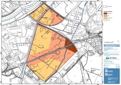 Plànol: Pla Director Urbanístic de les Àrees Residencials Estratègiques (ARE) de Ponent