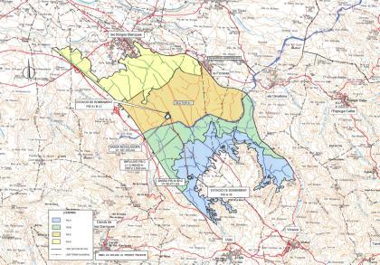 Plànol: Seguiment ambiental del projecte de concentració parcel·lària i del canal Segarra-Garrigues al TM de Tàrrega