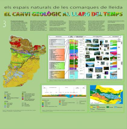 """Plànol: Disseny i elaboració dels continguts de l'exposició """"Els espais naturals de les comarques de Lleida"""""""