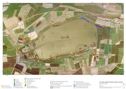Plano: Coordinación técnica del Consorcio del estanque de Ivars i Vila-sana